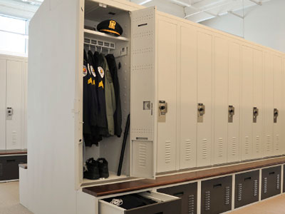 campus security locker room