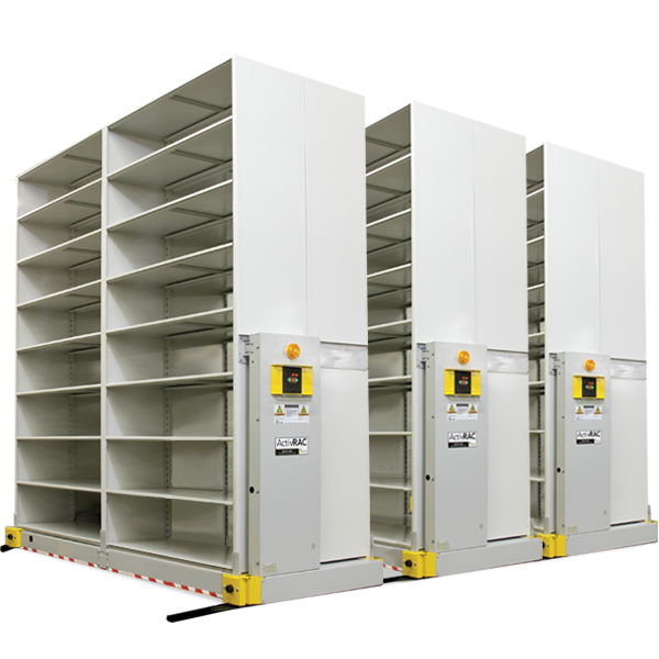 heavy-duty mobile shelving