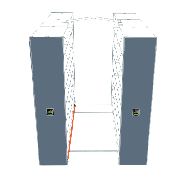 high density mobile shelving safety features
