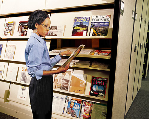 milwaukee journal sentinel magazine rack shelving