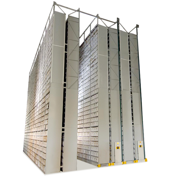 off-site mobile shelving high-bay mobile storage