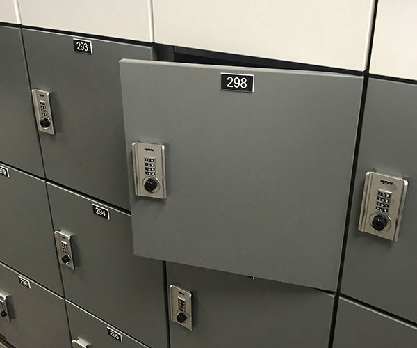 office locker - combination locks or choose other options