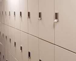 secure healthcare lockers