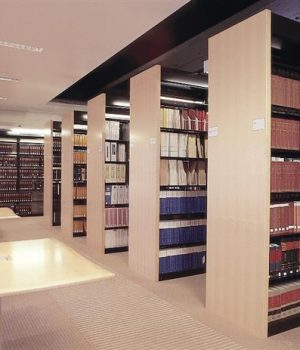 cantilever law library shelving