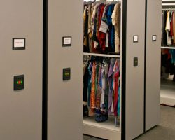 clothes storage powered high-density mobile systems