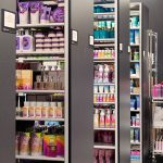 retail sample storage bulk compact shelving