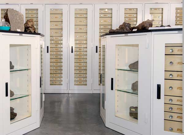 campus archive collection museum cabinets
