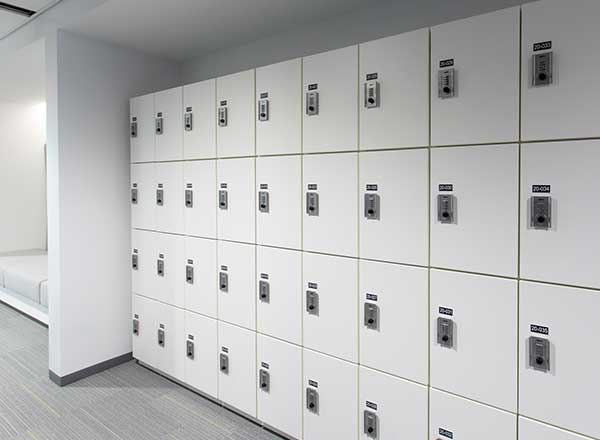 campus student secure storage