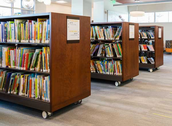 library carts flexible library storage