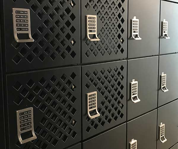 office personal refrigerated secure locker