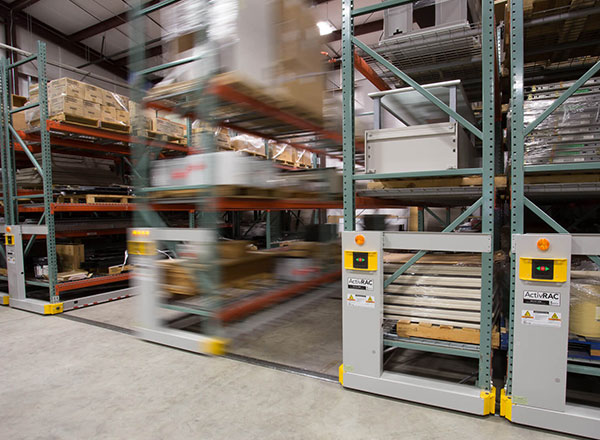 warehouse heavy duty mobile shelving