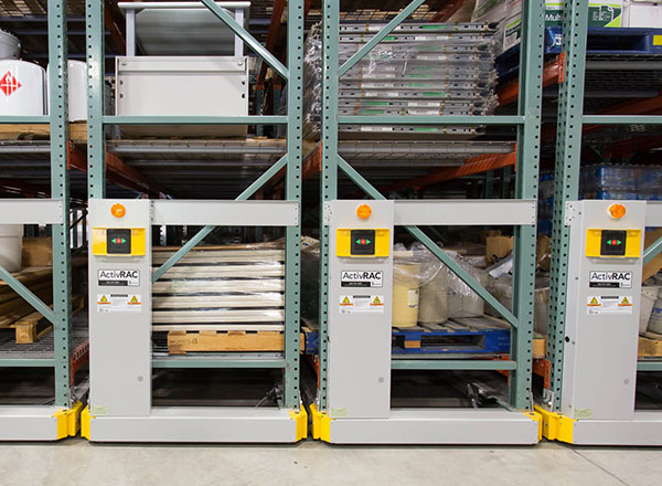 warehouse university storage pallet racking