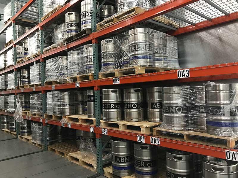 beer distributor storage after