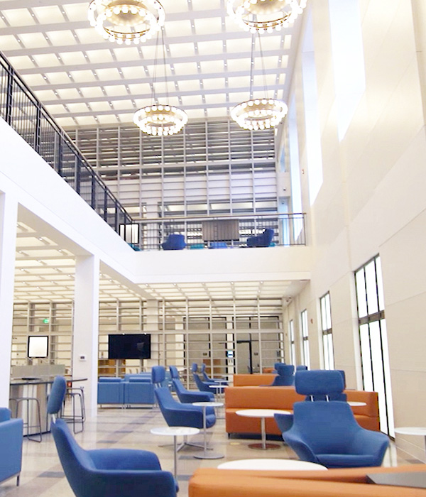 Modern library design - bridging the digital divide - connected communities