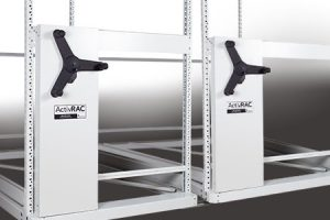 activrac 3 light duty moving shelves