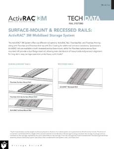 download ActivRAC 3 rail system tech data
