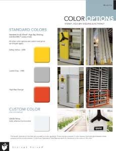download ActivRAC color chart