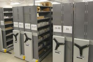 compact shelving industrial storage