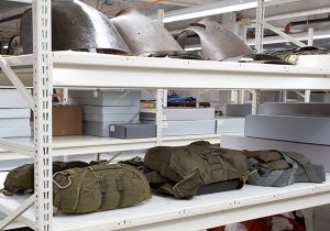military museum off-site collection storage