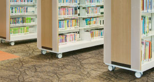 makerspace shelving carts
