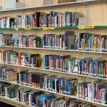 cantilever shelving public library book storage