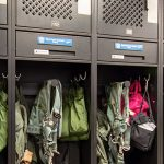 fighter pilot gear lockers