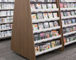 university library mobile shelving solutions