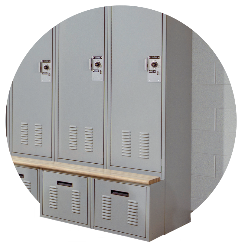 spacesaver personal storage lockers