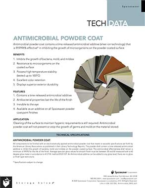 download tech data antimicrobial powder coat