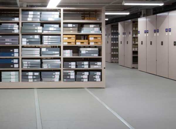 floor loading planning museum archive storage