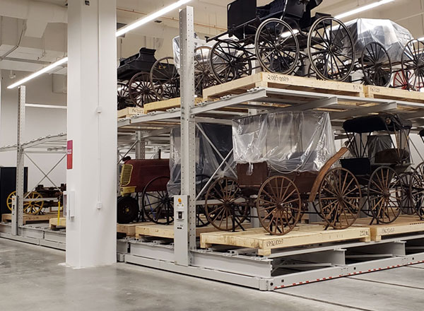 storing oversized museum collections