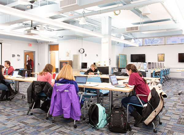 campus library organize collection to expand study space