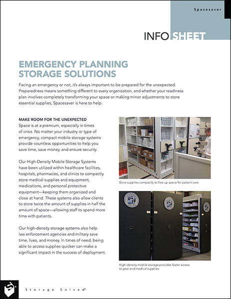 download emergency planning storage solutions