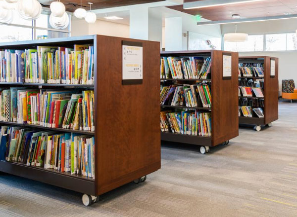 library flexible library shelving systems