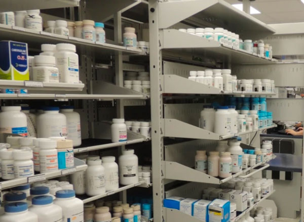 pharmacy compact secure inventory storage