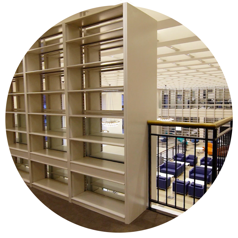 4-post high-quality shelving