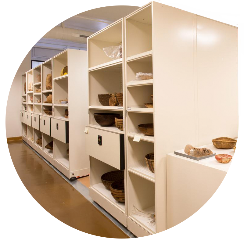 museum mobile shelving system