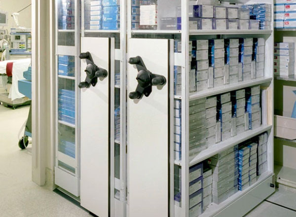 university compact medical supply storage