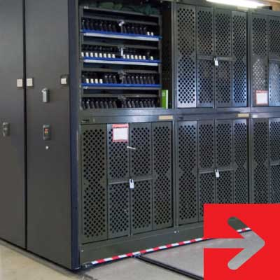 military equipment secure storage solutions