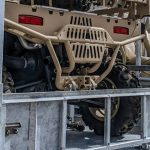military UTV stackable storage container
