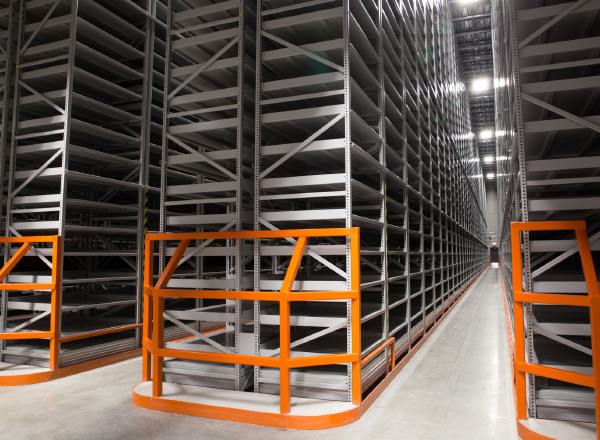 off-site campus library shelving storage