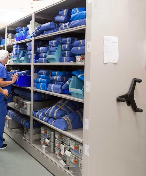 ppe inventory hospital storage