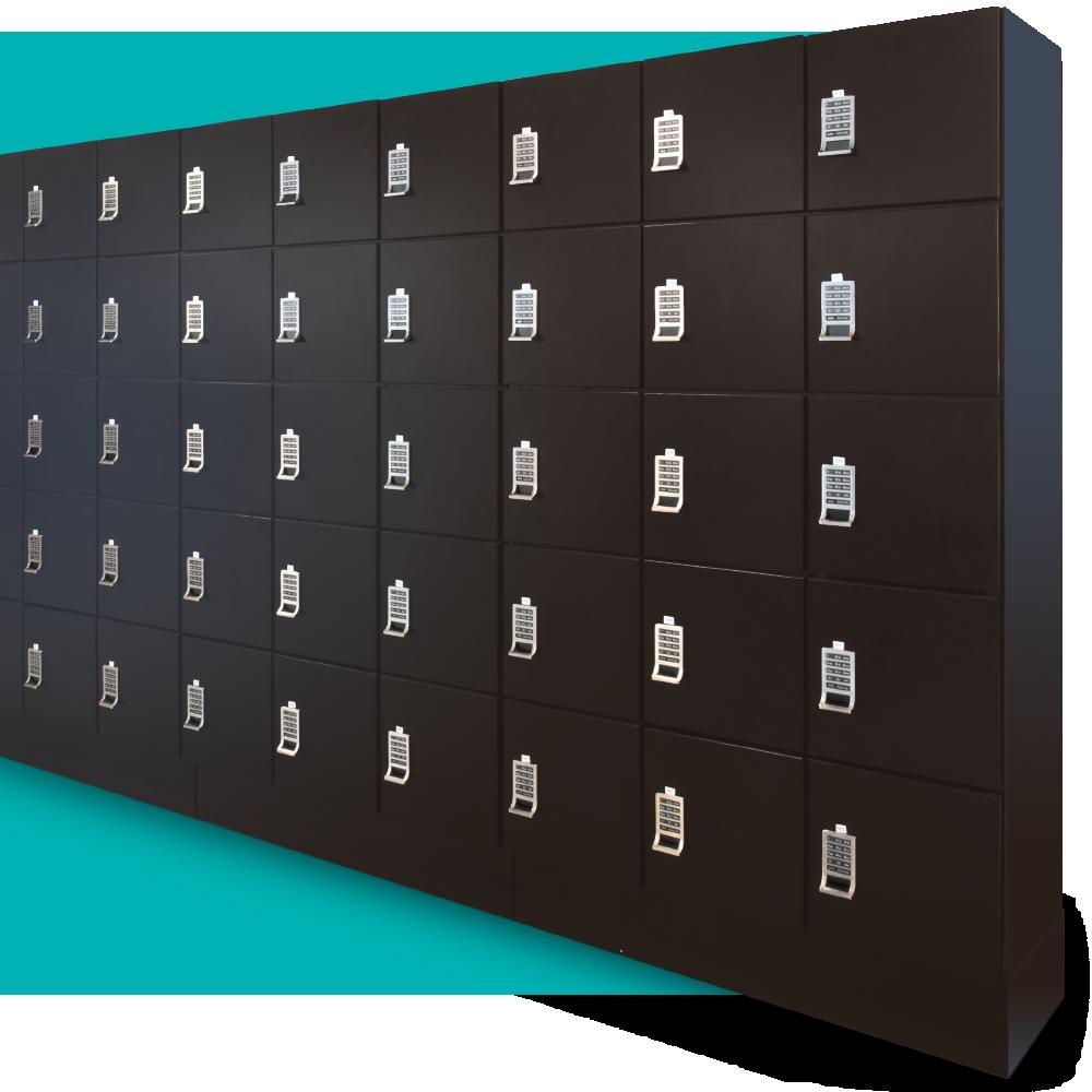 modern employee lockers