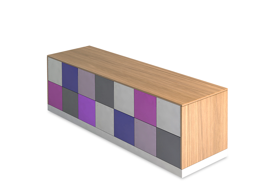 storage lockers for office counter height island