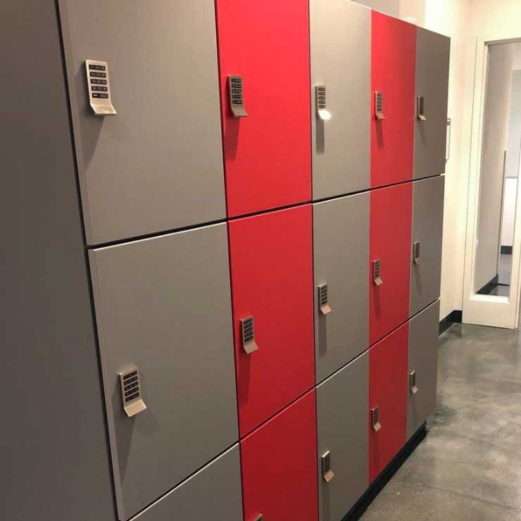 campus lab personal storage lockers