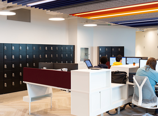lockers for employee office storage