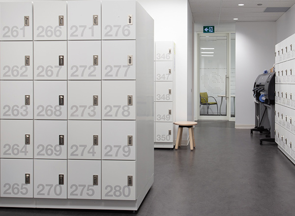 workplace locker RFID locks compatible