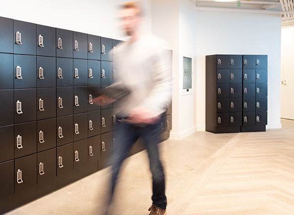 workplace modular steel lockers