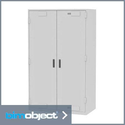 bimobject preservation cabinet revit solid door