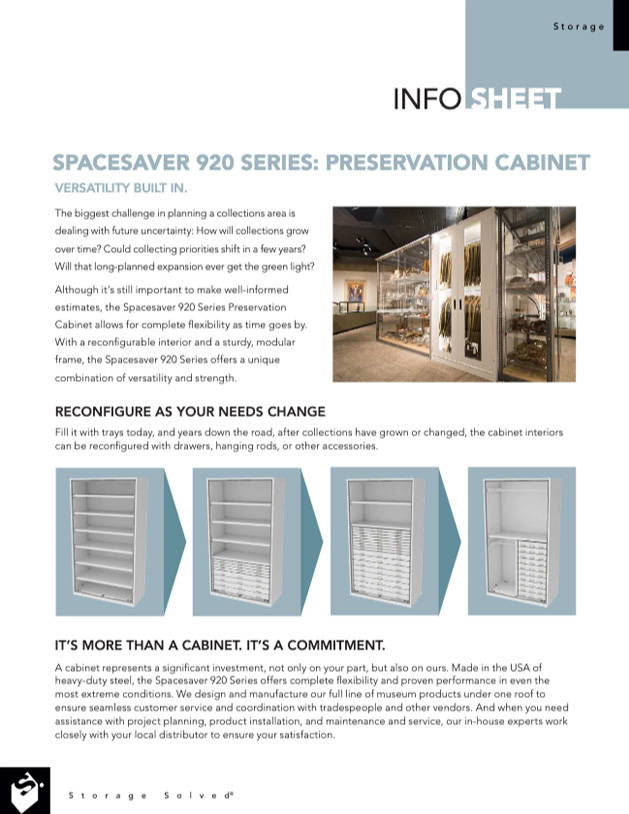 download viking preservation cabinets 920 series